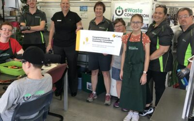 Kenmore site gratefully accepts Commonwealth Bank Donation